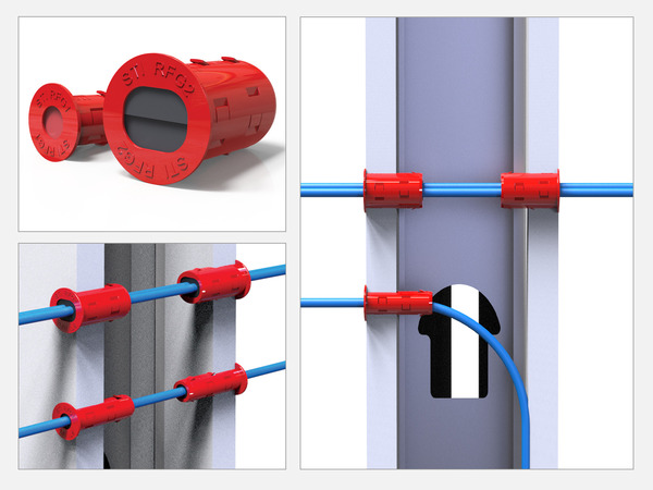 EZ-Firestop Grommet Description
